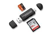 Alpexe Alpexe lecteur de cartes sd/microsd usb 2.0 ( pour pc et ordinateurs portables smartphones/tablettes avec fonction otg)