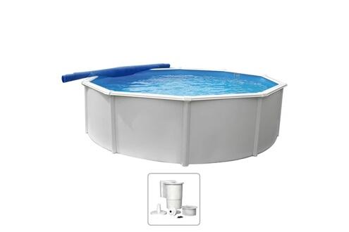 GENERIQUE Piscine et spa serie majuro kwad piscine steely deluxe ronde 5,5x1,2 m