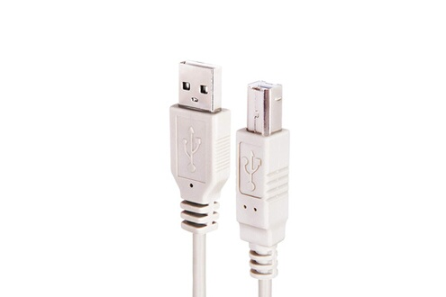 Ineck Cable usb a vers usb b pour imprimantes, numeriseurs (hp, epson, lexmark, canon, ibm, brother, laserjet) - 1.8 metres