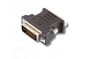 Ineck Adaptateur de moniteur connecteur dvi-d connecteur vga (24 + 1-pin m�le/15-pin femelle)