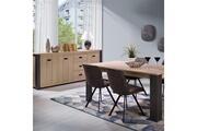 Nouvomeuble Salle à manger contemporaine couleur bois pietro
