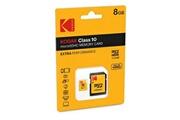 Kodak Microsdhc 8go kodak +adaptateur cl10 extra - sous blister