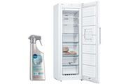 Bosch Congelateur armoire vertical blanc a++ froid ventilé 225l autonomie 25h no frost gsn33vw3p