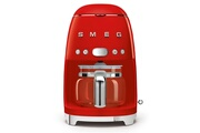 Smeg Cafetière programmable 10 tasses 1050w rouge - smeg - dcf01rdeu