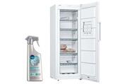 Bosch Congelateur armoire vertical blanc a++ froid statique 237l autonomie 22h freshsense gsv36vwev