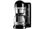 Kitchenaid Cafetière à infusion avec fonctions simplifiées 12 tasses 1100w noir onyx - kitchenaid - 5kcm1204eob