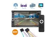 Vetomile Vetomile 7036 lecteur multimedia de voiture 7 inch autoradio mp5 player ecran tactile, usb tf aux fm/rds eu, noir