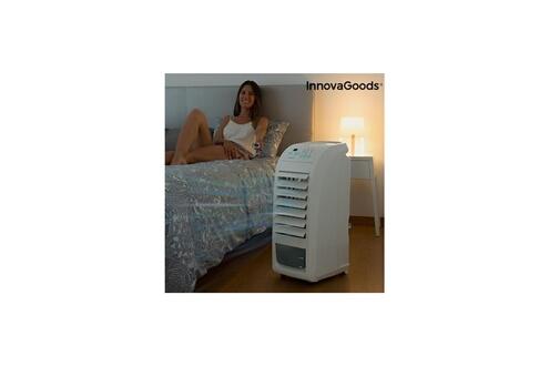 Dealstore Climatiseur évaporation portable innovagoods 4,5 l 70w gris