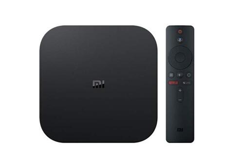Xiaomi Xiaomi boîtier tv multimédia mi tv box s 4k hdr android 8.1 wifi google cast netflix iptv