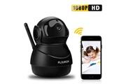 Floureon Caméra ip wifi 1080p hd h.264 wifi 2.0 mégapixels cctv de sécurité sans fil avec vision de nuit et détection de mouvement pour la surveillance à domi