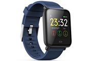 Q9 Q9 montre connecte, bracelet montre ecran colore montre intelligente sportif impermeable, pour android/ ios eu, bleu