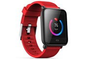 Q9 Q9 montre connecte, bracelet montre ecran colore montre intelligente sportif impermeable, pour android/ ios eu, rouge