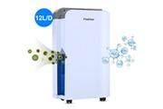 Finether Finether 12l / day déshumidificateur électrique intelligent maison séchoir à humidité avec fonction de purification d'air eu blanc