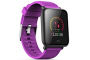 Q9 Q9 montre connecte, bracelet montre ecran colore montre intelligente sportif impermeable, pour android/ ios eu, violet
