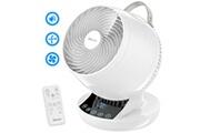 Sancusto Sancusto ventilateur de circulation d'air electrique, 8 vitesses, portable oscillant 4 saisons a economie d'energie, telecommande, eu