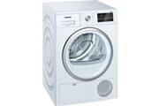 Siemens Sèche-linge à condensation 60cm 8kg b blanc - siemens - wt45g408ff