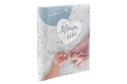 Atmosphera Livre de naissance 100 pages bleu