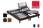 Epeda Lit electrique epeda metallic 100 80x200