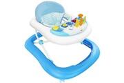 Todeco Trotteur pour bébés, centre d'activités pour bébés, motif bleu avec les jouets, tranche d'âge: 6 à 18 mois