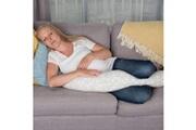 Cuddleco Oreiller d'allaitement mousse à mémoire comfi mum blanc