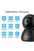 Floureon Yi cloud home caméra de sécurité ip sans fil 1080p hd avec système intelligent de suivi de vision nocturne