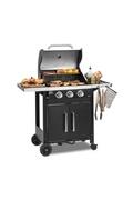 KLARSTEIN Tomahawk 3.0 t barbecue à gaz 3 brûleurs 3,2 kw grille de cuisson 53cm