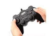Shot Case Manette avec fil pour pc acer usb gamer jeux video joystick precision universel (noir)