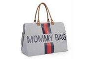 Childhome Sac à couches mommy bag gris toile