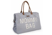 Childhome Sac à couches mommy bag gris nylon oxford