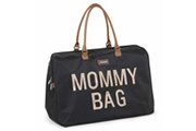 Childhome Sac à couches mommy bag noir nylon oxford