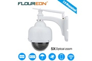 Floureon Floureon 1080p wifi 2.7-13.5mm h.264 sans fil, camera de surveillance, camera de securite, cctv, tf micro carte de sd, eu blanc