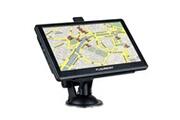 Floureon Floureon 7 inch fm gps navigation gps de voiture, ecran tactil, mp3 sat nav 8+128go, carte graduit, eu noir