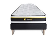 Sleepfit Ensemble soft 90 x 200 cm sommier noir
