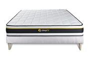 Sleepfit Ensemble soft 140 x 190 cm sommier kit blanc