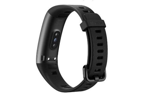 Huawei Bracelet connecté band connecté 3 pro multifonctionnel étanche - noir