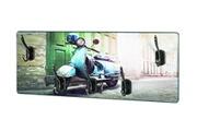 Pegane Garderobe murale motif scooter - 50 x 5 x 20 cm -pegane-