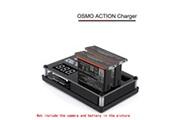 Generic Pour caméra dji osmo action de charge hub hub chargeur batterie de recharge intelligent