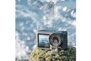 Generic Film en verre trempé protecteur d'écran pour la caméra dji osmo action avant membrane