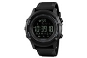 Skmei Skmei mens all black style militaire intelligent fonctions de montre activité tracker 50atm smartwatch 179