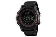 Skmei Skmei mens all black style militaire intelligent fonctions de montre activité tracker 50atm smartwatch 178