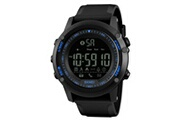 Skmei Skmei mens all black style militaire intelligent fonctions de montre activité tracker 50atm smartwatch 177