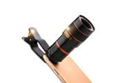 Dealmarche Clip de lentille de télescope de photographie yeduo pour appareil photo à zoom optique pour téléphone portable