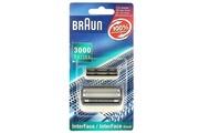 Braun Grille+couteau series 3000 interface rasoir - ch46669