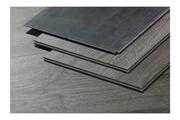 HABITAT ET JARDIN Lames de sol pvc clipsable 5g- 11m²- 5 mm - bois gris clair