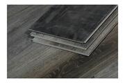 HETJ Lames de sol pvc clipsables- 3.3 m² - 4 mm - chêne gris foncé