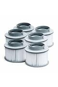 Alice's Garden Pack de 6 filtres pour spa mspa camaro, super camaro, alpine 4 et 6, silver cloud 4 et 6, bliss 6 et mono 6.