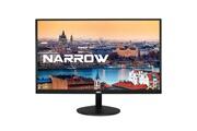 Hkc 20a6: 50 cm (20 pouces) écran plat led, narrow frame & ultra thin (full hd 1.920 x 1.080, hdmi et vga), noir