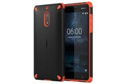 Nokia Coque rugged impact cc-501 pour nokia 6 - noire / orange