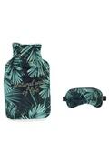 Totally Addict Bouillotte et masque de sommeil tropical - 200 ml - vert
