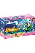 PLAYMOBIL Playmobil 70097 magic - roi des mers avec calèche royale